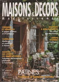 Carreau de Cuve - Cuisine - Maisons et Décors Méditérranée - Octobre 2004