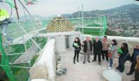 Rénovation historique du fort du Mont Alban grâce au savoir-faire des Carrelages Boutal.