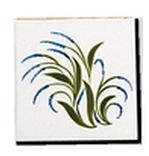Carrelage décoré - Design - Décoration - Motif - Artisanat de Provence à Salernes