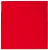 Carrelage Rouge Cerise - Salle de Bains - Cuisine - Faïence de Provence à Salernes