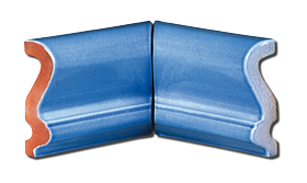 carrelage d coration corniche biseaut e angle rentrant. Black Bedroom Furniture Sets. Home Design Ideas