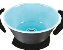 Carrelage - Décoration - Vasque ronde à poser- Cuisine - Salle de Bains - Faïence de Provence à Salernes