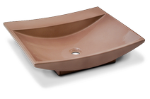 Carrelage - Décoration - Venise vasque 60 x 47 à poser- Cuisine - Salle de Bains - Faïence de Provence à Salernes