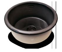 Carrelage - Décoration - Cuve Ronde diamètre 45 cm - Cuisine - Salle de Bains - Faïence de Provence à Salernes