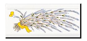 Carrelage - Décoration - Frise 11x22Lavande - Cuisine - Salle de Bains - Faïence de Provence à Salernes