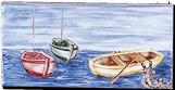 Carrelage - Décoration - Frise 11x22 Pêcheur - Motif - Design - Faïence de Provence à Salernes
