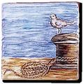 Carrelage - Décoration - Pêcheur - Motif - Design - Faïence de Provence à Salernes