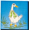 Carrelage - Décoration - Décor 13 Oies- Motif - Design - Faïence de Provence à Salernes
