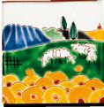Carrelage - Décoration - Décor 11x11 Naïfs- Design - Faïence de Provence à Salernes
