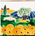 Carrelage - Décoration - Naïfs- Motif - Design - Faïence de Provence à Salernes
