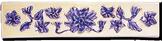 Carrelage - Décoration - Frise 5x22 Printania- Motif - Design - Faïence de Provence à Salernes