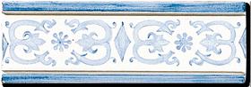 Carrelage - Décoration - Frise 7,5 x 22 Artignosc - Motif - Design - Faïence de Provence à Salernes