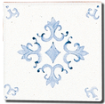 Carrelage -Décoration - Artignosc -  Motif - Design - Faïence de Provence à Salernes