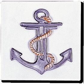 Carrelage - Décoration - La Marine- Motif - Design - Faïence de Provence à Salernes