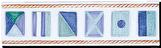 Frise La Marine - Carrelage - Décoration - Motif - Design - Faïence de Provence à Salernes