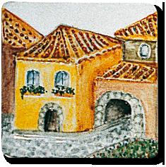 Carrelage - Décoration - Le Vieux Village - Design - Faïence de Provence à Salernes
