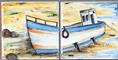 Carrelage - Décoration - Océane- Motif - Design - Faïence de Provence à Salernes
