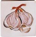 Carrelage - Décoration - Gousse d'ail - Motif - Design - Faïence de Provence à Salernes