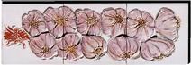 Carrelage - Décoration - Tresse d'ail - Fresque - Tableau - Faïence de Provence à Salernes