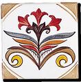 Carrelage - Décoration - Décor 11 x 11 Douce France - Design - Faïence de Provence à Salernes