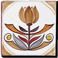 Carrelage - Décor 11 x 11 Douce France- Motif - Design - Faïence de Provence à Salernes