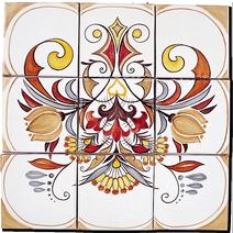 Carrelage - Décoration - Douce France - Fresque - Tableau - Faïence de Provence à Salernes