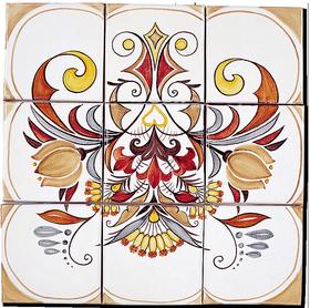Carrelage d coration douce france fresque tableau for Fresque carrelage