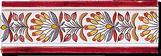 Carrelage - Décoration - Frise 7.5 x 22 Papyrus - Motif - Design - Faïence de Provence à Salernes