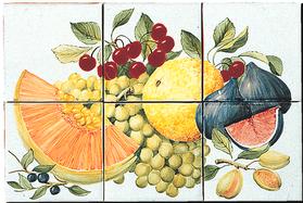 Carrelage - Décoration - Délices du Lubéron - Fresque - Tableau - Faïence de Provence à Salernes