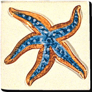 Carrelage d coration d cor 11x11 coquillages motif for Carreaux faience 11x11