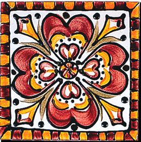 Carrelage - Les touaregs 13x13 - Design - Faïence de Provence à Salernes