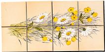 Carrelage - Décoration - Fresque Champêtre - Motif - Design - Faïence de Provence à Salernes