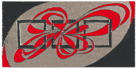 carrelages-decoration-eclipe-lave-emaillée - motif - Design - Salernes