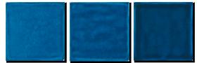 Carrelage Bleu Méditerranée  - Cuisine - Salle de Bains - Faïence de Provence à Salernes