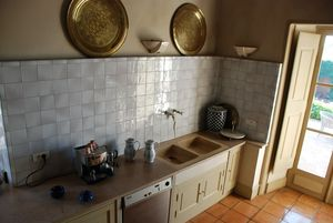 Carrelage bouton d 39 or salle de bains cuisine fa ence for Carrelage faience ancienne